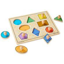 Knopp-pussel Jumbo - Geometri