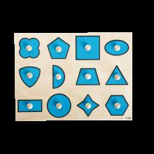 Knoppussel m. 12 bitar - Former