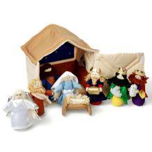 Julspel i tyg, 10 delar
