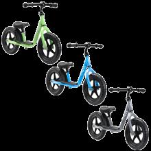 Sparkcykel i metall | Skumgummidäck | Medium