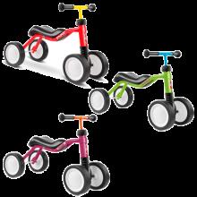 Springcykel | Gåcykel | PUKY Wutsch | Mini