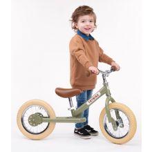 Springcykel - Trybike med två hjul, Grön