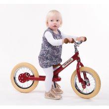 Springcykel - Trybike med två hjul, Röd