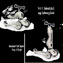 Sparkcykel/Springcykel - Highwaykick 1, Ash