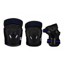 Sparkcykel tillbehör - Skyddsutrustning (Blå)