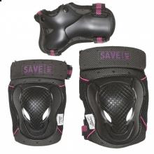 Sparkcykel tillbehör – Skyddsutrustning (rosa)