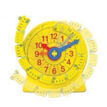 Lär dig klockan - med avtagbar tallinje