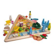 Lär dig om näring - Matpyramid inkl. leksaksmat
