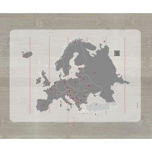 Lärunderlägg - Karta över Europa