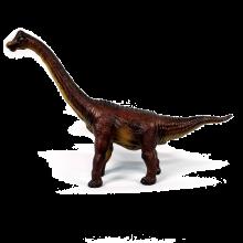 Dinosaurie - Brachiosaurus i naturgummi