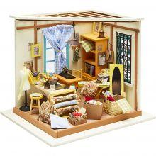 Gör ett miniatyrrum - Skräddarens stuga