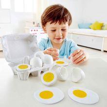Leksaksmat - Äggkartong med 6 ägg