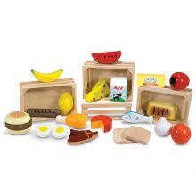Leksaksmat - Mat i 4 lådor
