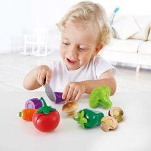 Leksaksmat - Grönsaker från trädgården