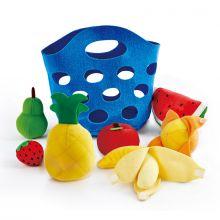 Leksaksmat i plysch - Frukt