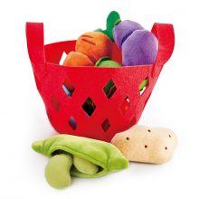 Leksaksmat i plysch - Grönsaker