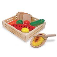 Leksaksmat - Mat i trälåda