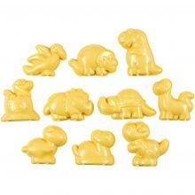 Modellsand tillbehör - Sandformar, dinosaurier, 10