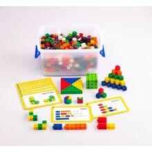 Cubes 2 cm - Set för skolklass m. 500 delar