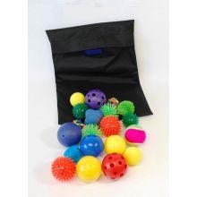 Sensoriska bollar - Set med 20 st.