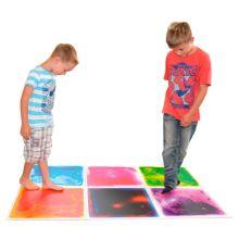 Fascinerande mattor m. färger - 6 st.