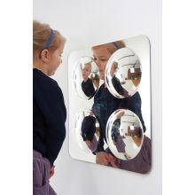 Magisk spegel med bubblor