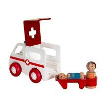 BRIO lekset -. Ambulans m. ljud och ljud