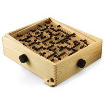Labyrintspel med vippbräde