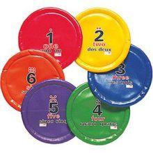 Frisbee mjuka - set med 6 st.