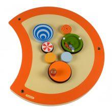 Väggpanel - Larven, kugghjulsspel