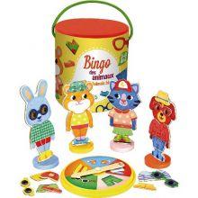 Bingo - Klä på djuren