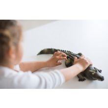 Krokodil i naturgummi