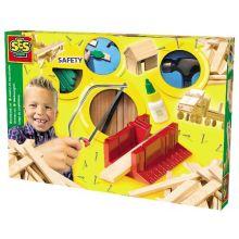 Bygguppsättning i trä - Lyxversion