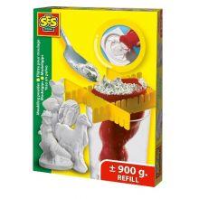Gjut-och-måla-gips - Refill 900 gram