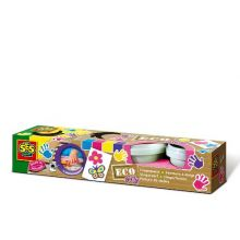 ECO - Fingerfärg 4 färger - Pastell