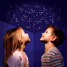 Glow - Klistermärken m. stjärnor, 1000+ delar