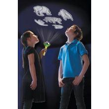 Ficklampa med projektor