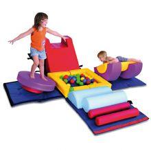 Skummöbel - Gymnastikkub Baby/Tumling