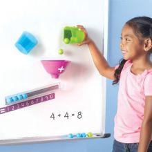 Magnetset till whiteboard - lär dig att pussla