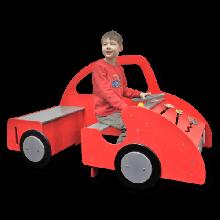 Leksaksbil med aktiviteter - Stor