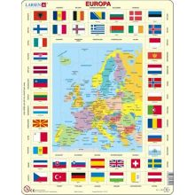 Larsen Pussel - Europas Flaggor
