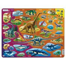 Larsen pussel - Dinosaurier, 85 bitar