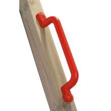 Gungställning tillbehör - Handtag i plast, röd