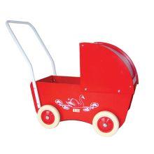 Dockvagn - Den lilla röda - Krea