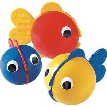 Badleksak - 3 små fiskar