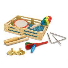 Musiklåda m. 7 instrument