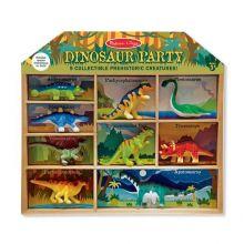 Dinosaurier i låda - 9 st.