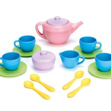 Tillbehör till leksakskök - Teservis med 17 delar
