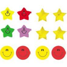 Klistermärken till belönning