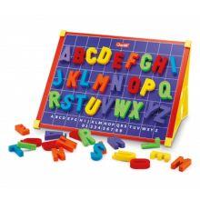 Magnettavla med bokstäver, inkl. æ,ø,å
